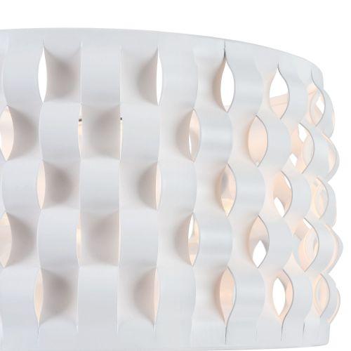 Lustra dormitor moderna Maytoni Delicate, alba, 2xE14 40W
