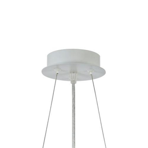 Lustra living moderna Maytoni Freeflow, alba, E27 60W
