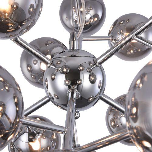 Candelabru modern Maytoni Dallas, crom lucios, 24xG9 28W