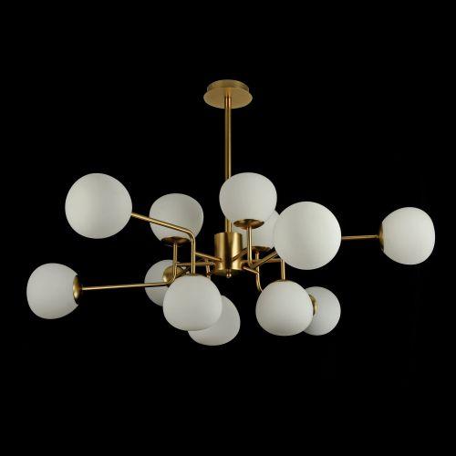 Candelabru modern Maytoni Erich, auriu, 12xE14 40W