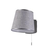 Lampa de citit moderna Maytoni Bergamo, neagra, E27 60W, cu intrerupator pe fir
