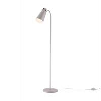 Lampadar cu picior modern Maytoni Novara, gri, E14 40W