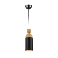 Pendul decorabil Maytoni Brava lampada, negru, E14 40W, H:37-156cm