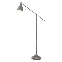 Lampadar reglabil modern Maytoni Domino, gri, E27 40W