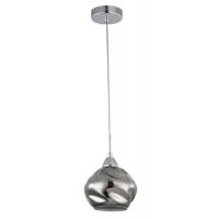 Pendul modern Maytoni Haze, gri, E14 60W, H:17-140cm