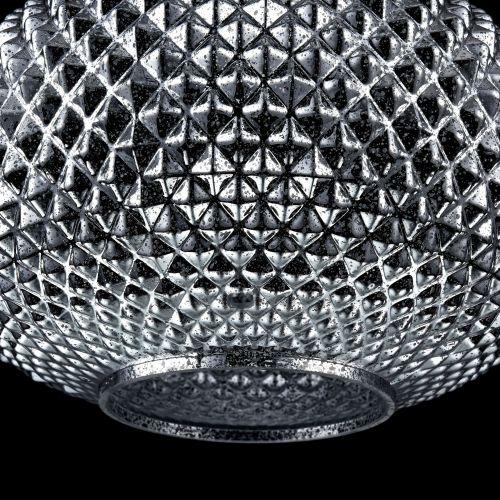 Lustra living moderna Maytoni Moreno, nichel mat, E27 60W, H:38-154cm