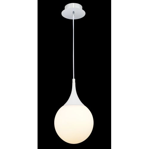 Pendul modern Maytoni Dewdrop, crom lucios, E27 8W, H:48-150cm