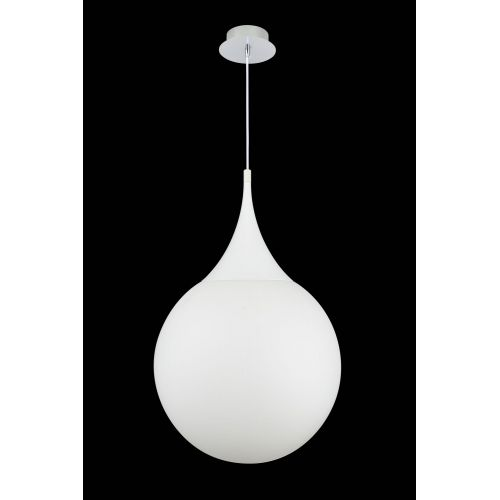 Lustra living moderna Maytoni Dewdrop, crom lucios, E27 8W, H:50-150cm