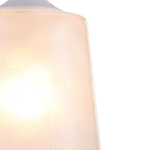 Lustra bucatarie moderna Maytoni Walter, alba, E27 60W, H:25-151cm