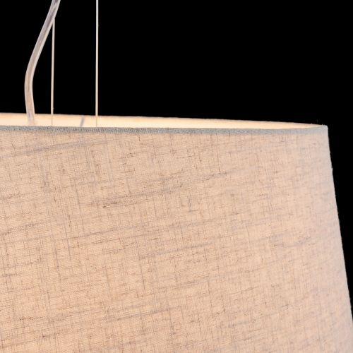 Lustra living moderna Maytoni Calvin, alba, 4xE27 60W, H:25-135cm