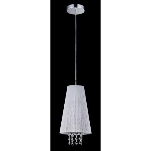Lustra living moderna Maytoni Assol, alba, E14 40W, H:26-96cm