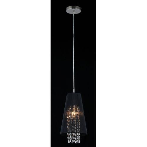 Pendul modern Maytoni Assol, negru, E14 40W, H:26-96cm