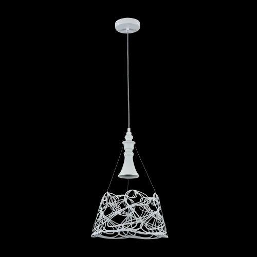 Pendul bucatarie modern Maytoni Elva, alba, E27 60W, H:50-120cm