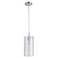 Pendul modern Maytoni Fresh, nichel mat, E14 40W, H:23-100cm