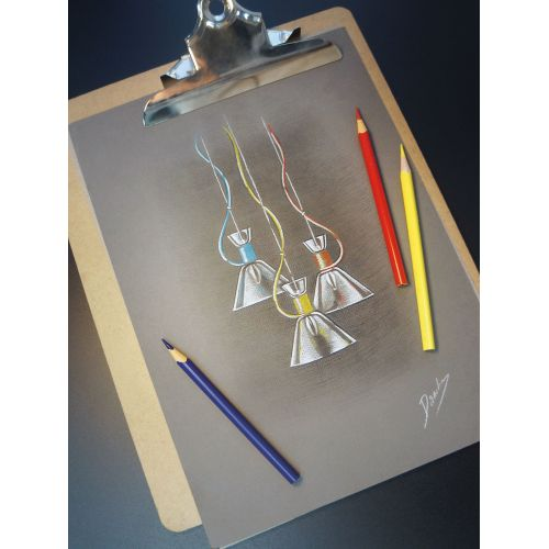 Pendul bucatarie modern Maytoni California, galben, E14 40W, H:25-148cm