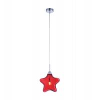 Pendul modern Maytoni Star, Rosu, G9 28W, H:21-140cm