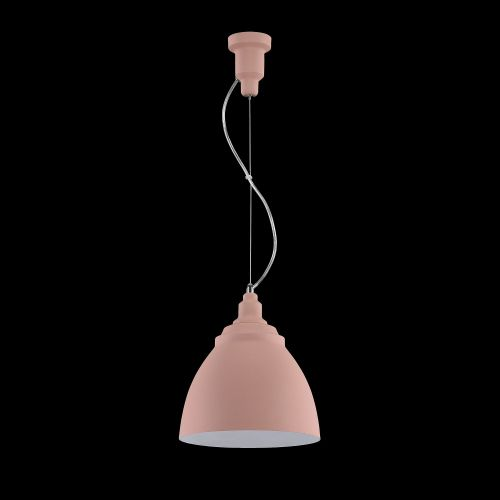 Lustra living moderna Maytoni Bellevue, roz, E27 60W, H:26-189cm