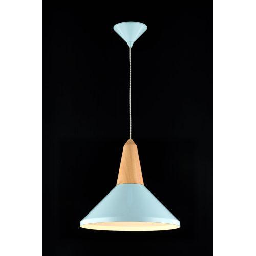 Pendul scandinav modern Maytoni Trottola, albastru, E27 60W, H:29-179cm
