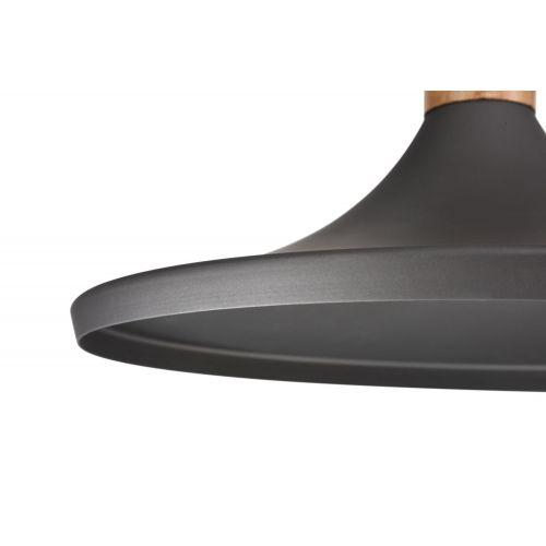 Pendul living modern Maytoni Bicones, gri, E27 60W, H:22-147cm