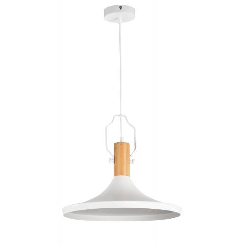 Lustra living moderna Maytoni Bicones, alba, E27 60W, H:22-147cm