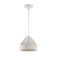 Pendul living modern Maytoni Arcilla, alb, E27 60W, H:20-170cm