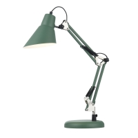 Lampa birou moderna Maytoni Zeppo 136, verde, E27 40W