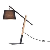 Lampa birou moderna Maytoni Laredo, neagra, E27 60W