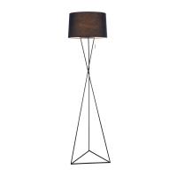 Lampadar tripod modern Maytoni Gaudi, negru, E27 60W