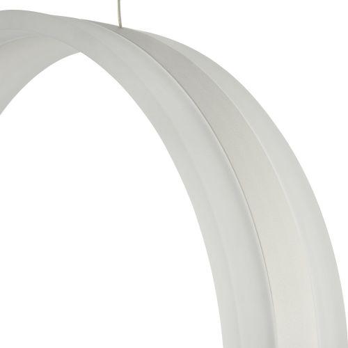Lustra LED moderna Maytoni Ravello, alba, LED 46W, 4600 lumeni, H:50-100cm