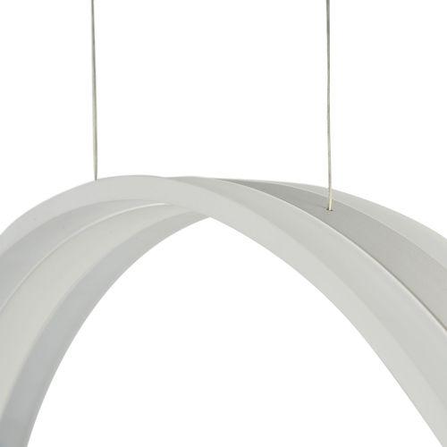 Lustra LED moderna Maytoni Ravello, alba, LED 70W, 6700 lumeni, H:70-100cm