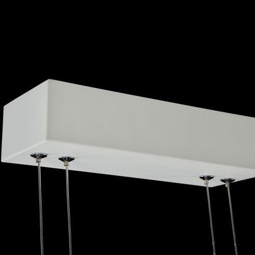 Lustra LED moderna Maytoni Ravello, alba, LED 115W, 10300 lumeni, H:70-100cm