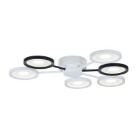 Lampa LED living moderna Maytoni Aprilia, alb-negru, LED 72W, 6000 lumeni