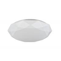 Plafoniera LED moderna Maytoni Crystallize, alba, LED 40W, 2800 lumeni