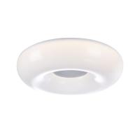 Plafoniera LED bucatarie cu difuzor incorporat Maytoni Music 60, alba, LED 60W, 3000 lumeni