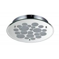 Plafoniera LED hol moderna rotunda Maytoni Glitter, crom lucios, LED 18W, 1260 lumeni