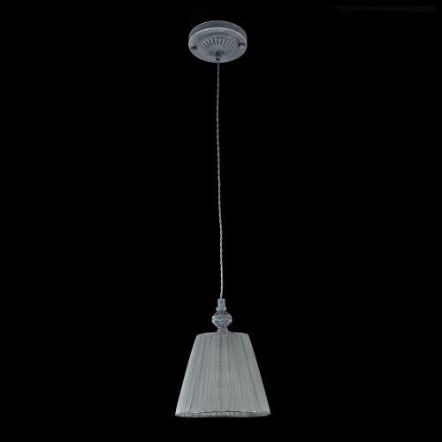 Pendul romantic Maytoni Monsoon, gri, E14 40W, H:22-172cm