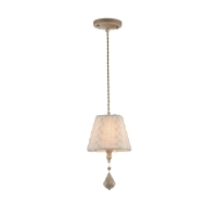 Pendul clasic Maytoni Lana, crem, E14 40W, H:35-181cm