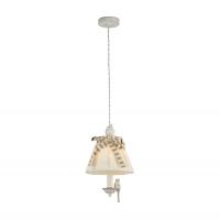 Pendul clasic Maytoni Bird, alba, E14 40W, H:36-134cm