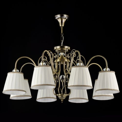 Lustra living Maytoni Vintage, bronz, 8xE14 40W, H:43-83cm