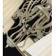 Lustra living Maytoni Vintage, alba, 8xE14 40W, H:43-93cm