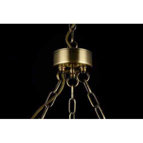 Lustra nautica clasica Maytoni Frigate, bronz, 6xE14 60W, H:63-66cm