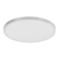 Plafoniera LED rotunda ultraplata Fueva, 25W-LED, 2500lm, 4000K, D:40cm, argintie