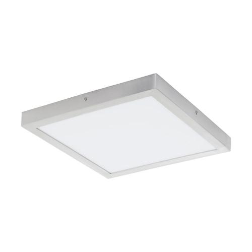 Plafoniera LED patrata ultraplata Fueva, 25W-LED, 2500lm, 4000K, 40x40cm, argintie