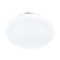 Plafoniera LED efect cristal D:33cm Frania-S, 1720lm, 3000K