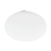 Plafoniera LED D:43cm Frania-S, 3400lm, 3000K, efect cristal