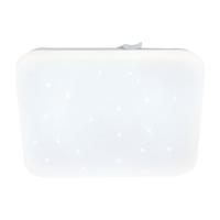 Plafoniera LED efect cristal 33x33cm Frania-S, 1720lm, 3000K