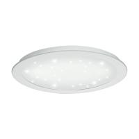Spot LED incastrat Ø300 alb-efect cristal Fiobbo, 21W, 2500lm, 3000K