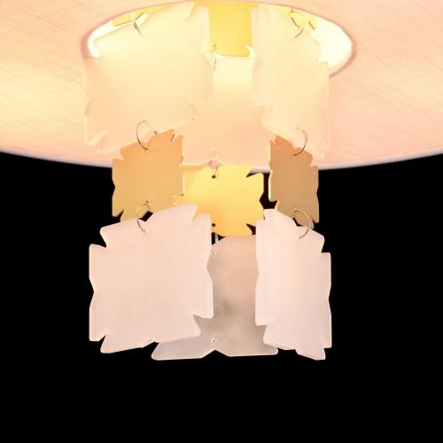Lustra dormitor clasica Maytoni Valencia, alama, 3xE14 40W