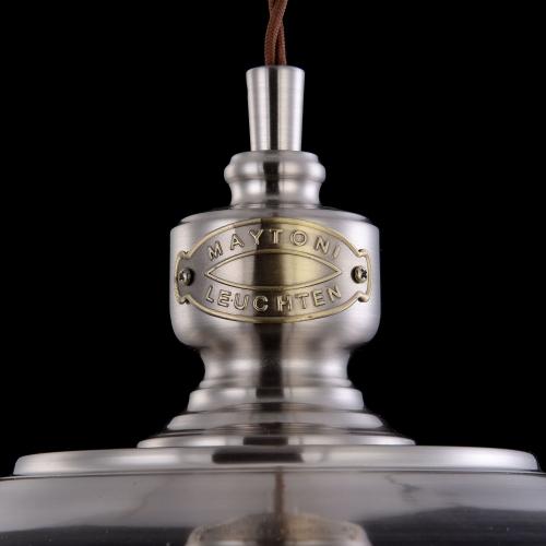 Pendul clasic Maytoni Senna, crom lucios, E27 60W, H:36-149cm