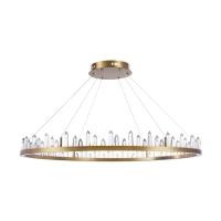 Candelabru LED cristale Maytoni Gletscher, alama, LED 73W, H:21-176cm